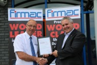 HSBC present Global Connections Certificate to Firmac