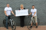 Firmac Cyclists raise £3075.00 for local charities